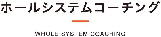 ホールシステムコーチング® WHOLE SYSTEM COACHING